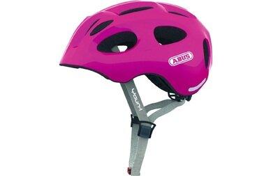 Dziecięcy kask rowerowy Abus Youn-I, rózowy