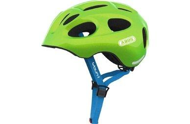 Dziecięcy kask rowerowy Abus Youn-I, zielony