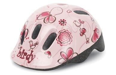 Dziecięcy kask rowerowy Polisport XXS Ptaszki