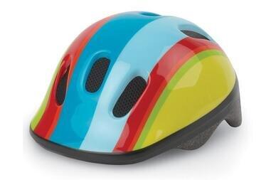 Dziecięcy kask rowery Polisport XXS Tęcza