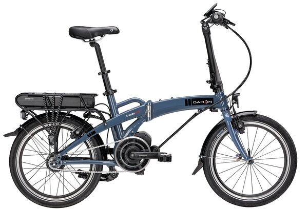 Elektryczny rower składany Dahon E-Vigor 20 / Grey Blue