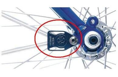 Element montażowy wspornika SKS Secu-clip / starszy model