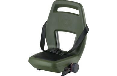 Fotelik rowerowy Qibbel 6+ Junior do 35kg (zielony)