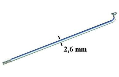 Gruba szprycha SAPIM ZINC 2.6 mm