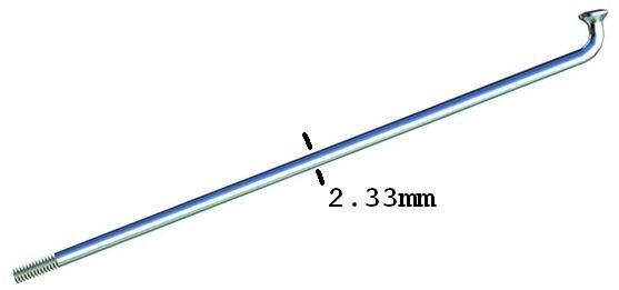 Gruba szprycha z nyplem Alpina F1 rozmiar 2,33