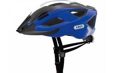 Kask rowerowy ABUS Aduro 2.0 - niebieski / czarny