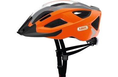Kask rowerowy ABUS Aduro 2.0 - pomarańczowy