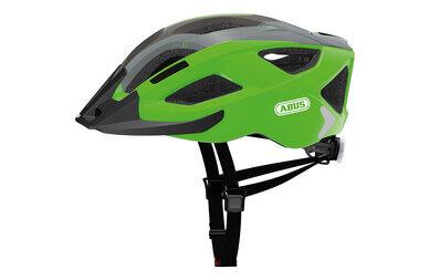 Kask rowerowy ABUS Aduro 2.0 - zielony / czarny
