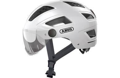 Kask rowerowy ABUS Hyban 2.0 Ace Polar White