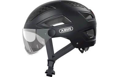 Kask rowerowy ABUS Hyban 2.0 Ace Velvet Black
