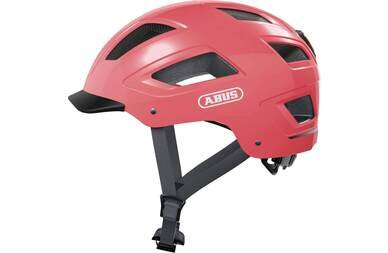 Kask rowerowy ABUS Hyban 2.0 Living Coral