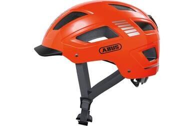 Kask rowerowy ABUS Hyban 2.0 Signal Orange