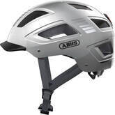 Kask rowerowy ABUS Hyban 2.0 Signal Silver