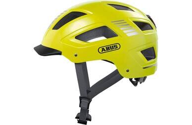Kask rowerowy ABUS Hyban 2.0 Signal Yellow
