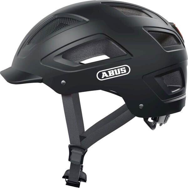Kask rowerowy ABUS Hyban 2.0 Velvet Black