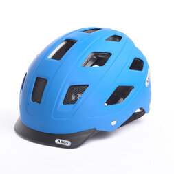 Kask rowerowy ABUS Hyban Blue Mat