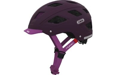 Kask rowerowy ABUS Hyban Core, fioletowy