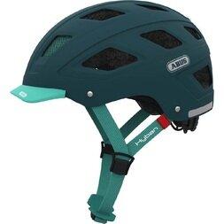Kask rowerowy ABUS Hyban Core, zielony