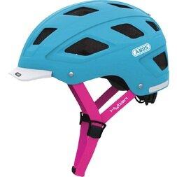 Kask rowerowy ABUS Hyban, niebieski