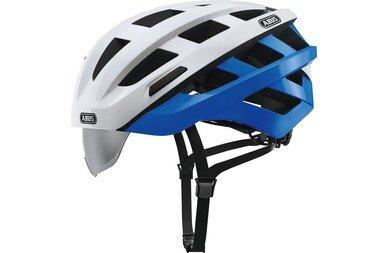 Kask rowerowy Abus In-Vizz Ascent, biały / niebieski