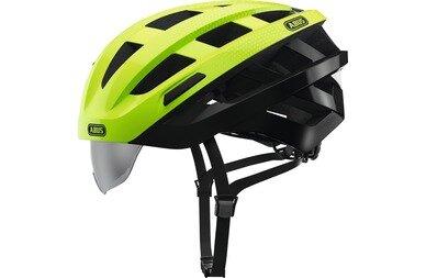 Kask rowerowy Abus In-Vizz Ascent, zielony / czarny
