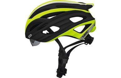 Kask rowerowy Abus In-Vizz, zielony / czarny