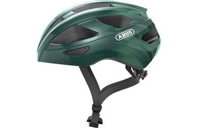 Kask rowerowy Abus Macator - opal/zielony