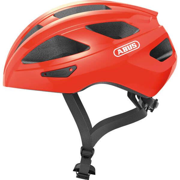 Kask rowerowy Abus Macator - pomarańczowy