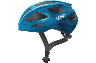 Kask rowerowy Abus Macator - steel/niebieski