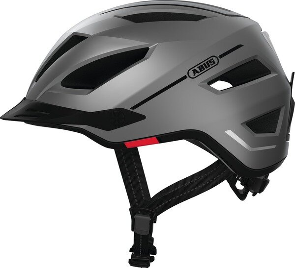 Kask rowerowy Abus Pedelec 2.0 Silver Edition