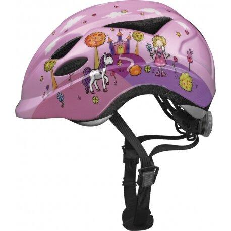 Kask rowerowy dla dzieci Abus Anuky Princess