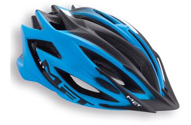 Kask rowerowy MET Veleno Niebieski
