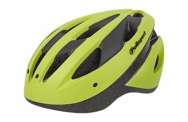 Kask rowerowy Polisport Sport Ride żółty/czarny