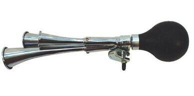 Klakson rowerowy trzydzwiękowy Trąbka