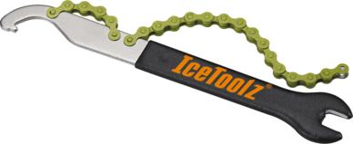 Klucz do demontażu kaset rowerowych oraz pedałów IceToolz 34S2