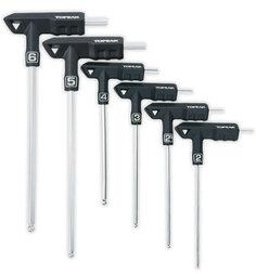 Klucze rowerowe Topeak T-Handle DuoHex Wrench Set