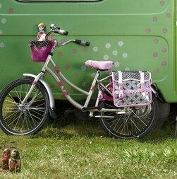 Koszyk rowerowy dla dzieci Basil Jasmin