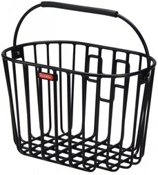 Koszyk rowerowy Klickfix Alumino - aluminiowy