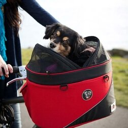 Koszyk rowerowy na psa, kota DoggyRide Cocoon