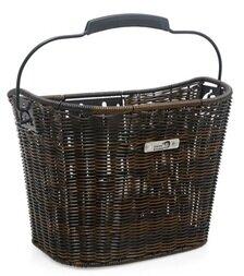 Koszyk rowerowy New Looxs Lombok - rattan 19 litrów