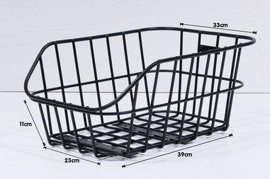 Koszyk rowerowy tylny Basil Cento Aluminiowy