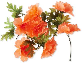 Kwiatki na rower Basil Peony