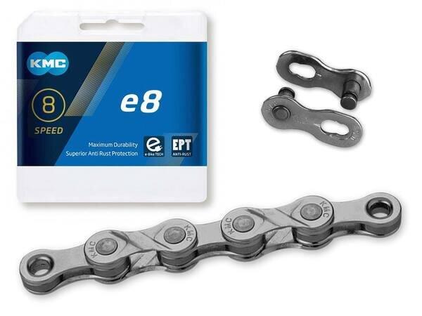 Łańcuch rowerowy antykorozyjny dla e-Bike KMC e8 EPT x122