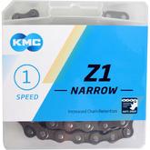 Łańcuch rowerowy KMC Z1 NARROW biegi w piaście