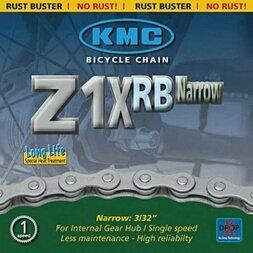 Łańcuch rowerowy KMC Z1XRB Narrow 1/2 X 3/32