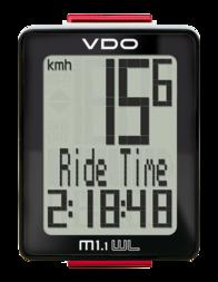 Licznik rowerowy VDO M1.1 WR (przewodowy)