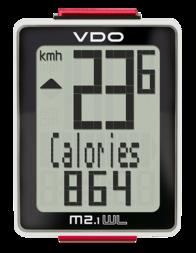 Licznik rowerowy VDO M2.1 WR (przewodowy)
