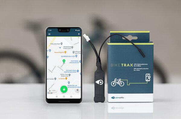 Lokalizator GPS do rowerów elektrycznych BIKE TRAX