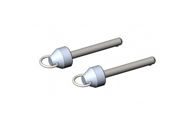 Magnetyczne piny do przyczepek rowerowych Croozer Kid/Kid Plus