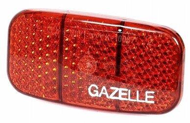 Odblask tylny na bagażnik Gazelle